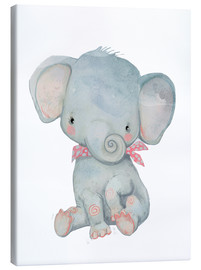 Lærredsbillede  Min lille elefant - Kidz Collection
