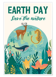 Premium-plakat  Earth Day - Kidz Collection