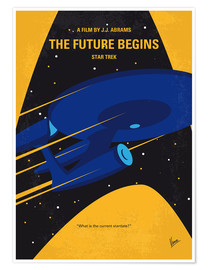 Premium-plakat The Future Begins