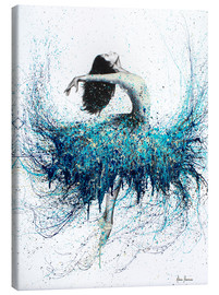 Lærredsbillede  Opals and Waves Ballerina - Ashvin Harrison