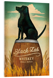 Akrylbillede  Black Lab Whiskey - Ryan Fowler