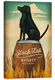 Lærredsbillede  Black Lab Whiskey - Ryan Fowler