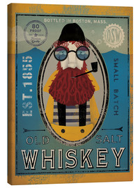 Lærredsbillede  Sailor IV Old Salt Whiskey - Ryan Fowler