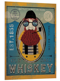 Print på skumplade  Sailor IV Old Salt Whiskey - Ryan Fowler