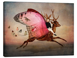 Lærredsbillede  Enjoy the ride - Catrin Welz-Stein