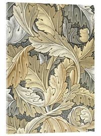 Akrylbillede  Acanthus - William Morris