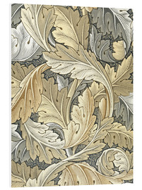 Print på skumplade  Acanthus - William Morris