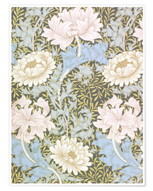 Premium-plakat  Chrysanthemum - William Morris