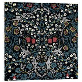 Akrylbillede  Blackthorn - William Morris