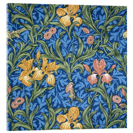 Akrylbillede  Iris - William Morris