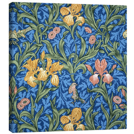 Lærredsbillede  Iris - William Morris