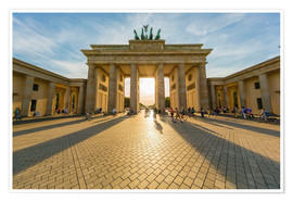 Premium-plakat  Brandenburg Gate and Pariser Platz - Westend61