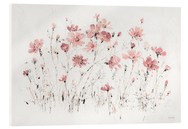 Akrylbillede  Wildflowers in pink - Lisa Audit