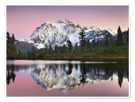 Premium-plakat Mount Shukan Reflection II
