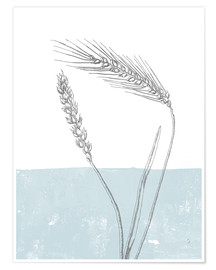 Premium-plakat Wheat
