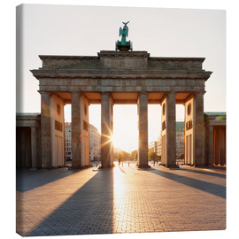 Lærredsbillede  Brandenburg Gate at sunrise - Markus Lange