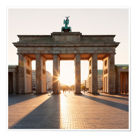 Premium-plakat  Brandenburg Gate at sunrise - Markus Lange