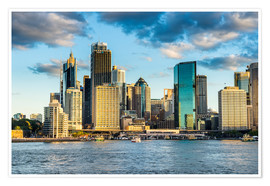 Premium-plakat  The skyline of Sydney at sunset - Michael Runkel