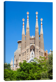 Lærredsbillede  La Sagrada Familia church in Barcelona - Neale Clarke