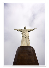 Premium-plakat  Iconic statue of Christ the Redeemer - Nando Machado
