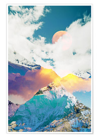 Premium-plakat Dreaming Mountains