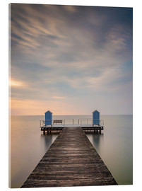 Akrylbillede  Jetty on the Baltic Sea (1) - Heiko Mundel