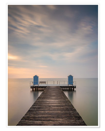 Premium-plakat  Jetty on the Baltic Sea (1) - Heiko Mundel