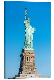 Lærredsbillede  Statue of Liberty on Liberty Island, New York City, USA - Jan Christopher Becke