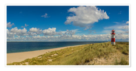 Premium-plakat  Lighthouse List East on Sylt - Heiko Mundel