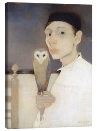 Lærredsbillede  Jan Mankes - Jan Mankes