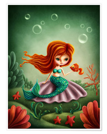 Premium-plakat Little mermaid