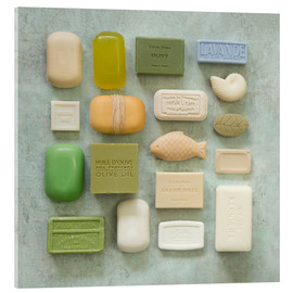 Akrylbillede  Soap Collection - Andrea Haase Foto