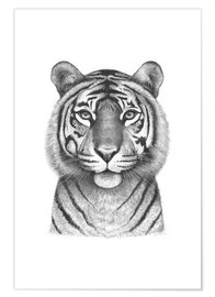 Premium-plakat Tigress