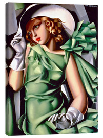 Lærredsbillede  Young lady with gloves - Tamara de Lempicka